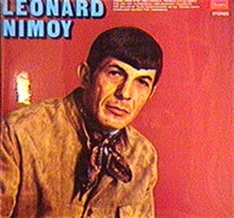 leonard nimoy if i had a hammer the leonard nimoy album page