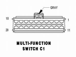 1997 Jeep Wrangler Multifunction Switch Wiring Diagram