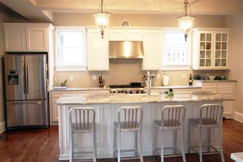 White Kitchen Cabinets With White Granite Countertops by White Kitchen Cabinets With Granite Countertop
