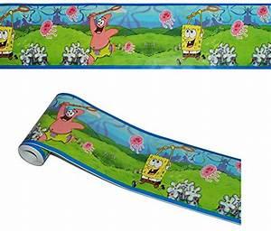 Kinderzimmer Bordüre Mädchen : 5 m bord re wandtattoo selbstklebend spongebob patrick seestern wandsticker aufkleber ~ Sanjose-hotels-ca.com Haus und Dekorationen