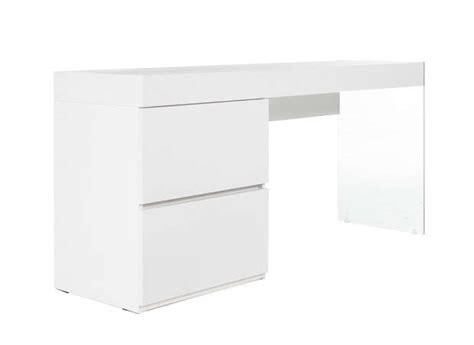 bureau laqué blanc ikea meuble bureau blanc mobilier de bureau lepolyglotte