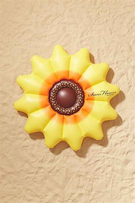 sunflower pool float urban outfitters