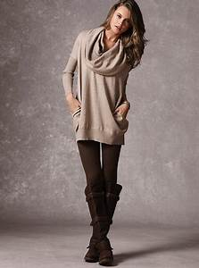Slouchy sweater leggings and boots! | Fashion Likes ...