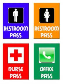 bathroom pass ideas bathroom pass template high images pictures becuo