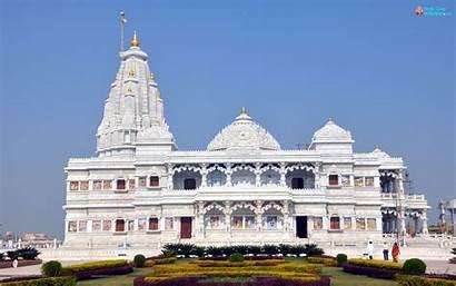 Vrindavan Mandir Mathura Prem Temple Krishna Wallpapers