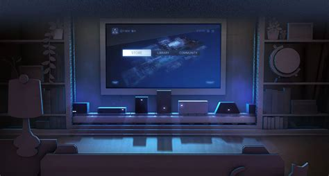 My Gaming Living Room by Valve Launching Steam Machine Consoles In 2014