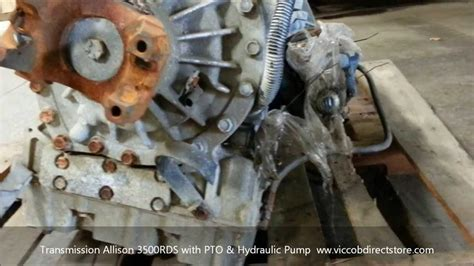 Transmission Allison 3500 RDS with PTO and Hydraulic ...