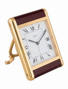 Cartier, Desk, Clock, -, Decor, And, Accessories