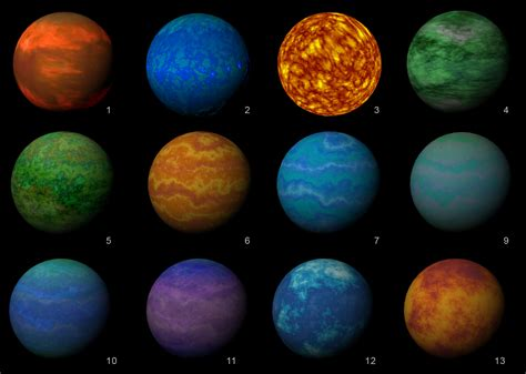 some gas planets textured – Rogue Earth