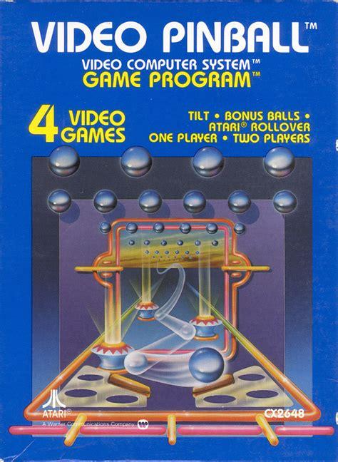 Video Pinball For Arcade 1979 Mobygames