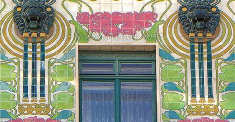 The Nouveau Of Otto Wagner Majolica House Architecture Of Nouveau In Vienna
