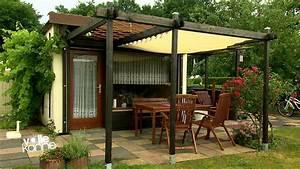 Glasschiebetüren Für Terrasse : ein sonnensegel f r die terrasse zdfmediathek ~ Sanjose-hotels-ca.com Haus und Dekorationen