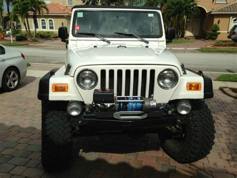 2005 jeep unlimited lifted find used 2005 jeep wrangler unlimited rubicon sport
