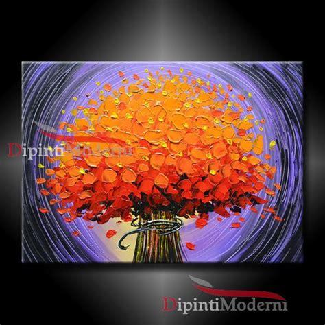 quadri di fiori astratti quadri moderni con figure astratti opera d arte di
