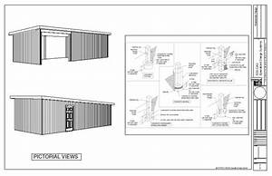 Pole Barn Plans With Material List Steel Truss 40x60 30x40