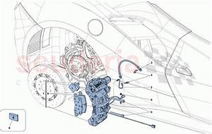 Ferrari 488 Spider Rear Brake Callipers Parts