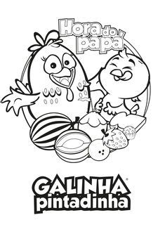 Gallina pintadita para colorearsaved X Kids
