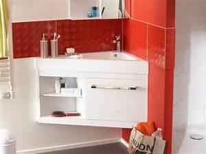 Meuble Pour Petite Salle De Bain : 40 meubles pour une petite salle de bains decoration pinterest meuble angle portes ~ Melissatoandfro.com Idées de Décoration