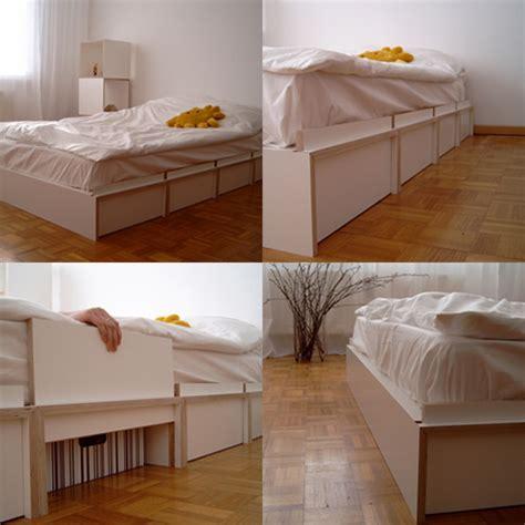21 Ideen Fuer Palettenbett Im Schlafzimmerpalettenbett Mit Schubladen Aus Holzkisten by Bettgestell Ideen