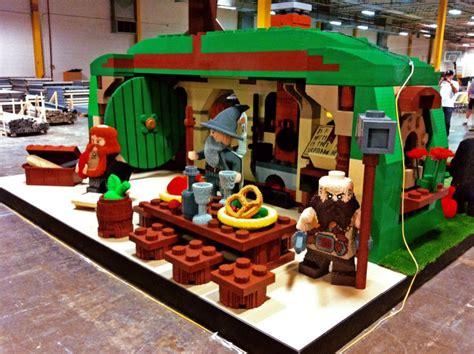 Lego Employees Build An Incredible, Lifesized Hobbit
