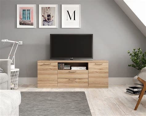 mueble salon mueble television comedor madera melamina