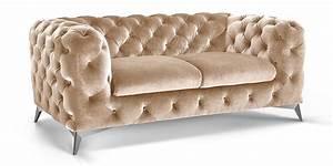 Chesterfield Sofa Schwarz : 2 sitzer chesterfield sofa big emma samt moebella24 ~ Whattoseeinmadrid.com Haus und Dekorationen