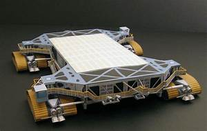 Paper models of space crafts