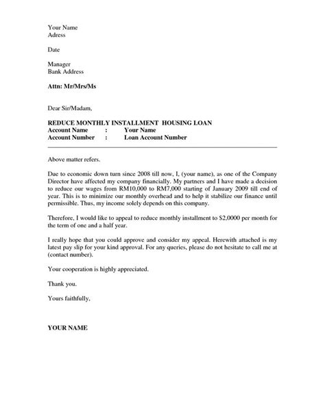 business appeal letter  letter  appeal