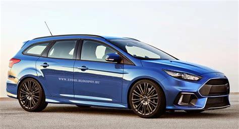 tomi designs render    ford focus rs estate
