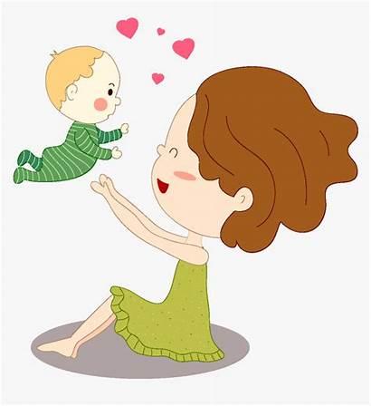 Mother Clipart Transparent Child Clip Silhouette Kindpng