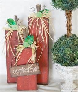 DIY Primitive Fall Wood Crafts