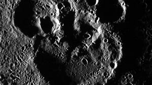 NASA Captures Mickey Mouse Silhouette on Mercury