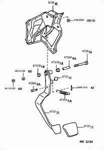 Toyota T100 Pad  Brake Pedal  Pad  Clutch Pedal  Pad  Pedal