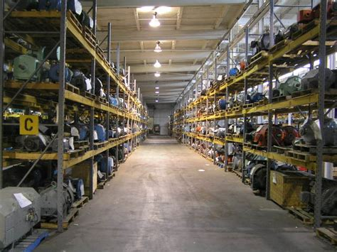 Electric Motor Warehouse by Should Your Motor Vendor Store Your Spare Electric Motors