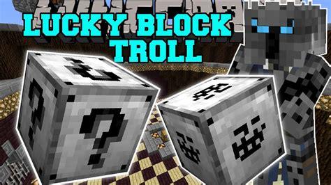 minecraft troll lucky block illuminati giant troll