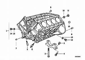 Original Parts For E38 740il M60 Sedan    Engine   Engine Block