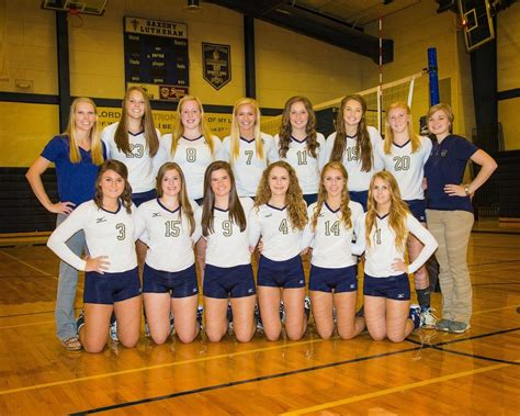 volleyball saxony lutheran high school