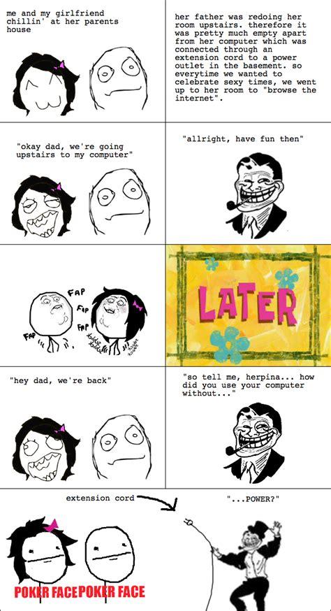Meme Comic - troll dad is always one step ahead fffffffuuuuuuuuuuuu