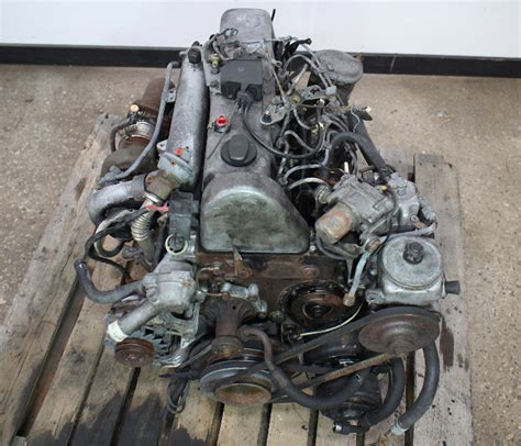 om  mercedes turbo diesel complete engine long block