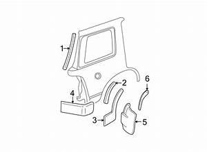 Ford Explorer Wheel Arch Molding  Xlt  Eddie Bauer