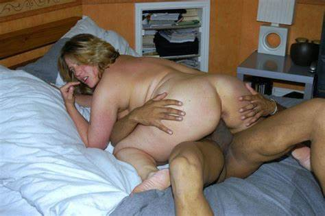Thick Granny Of My Wife Comes To Try Herself In Sex