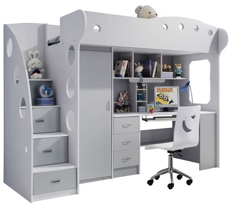 chambre combiné optimiser l espace d une chambre enfant avec un lit combiné