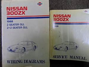 1988 Nissan 300zx 300 Zx Service Repair Shop Manual Set