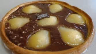 tarte au chocolat poire