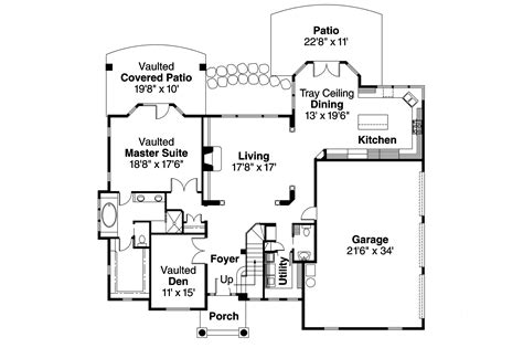 european floor plans european house plans southwick 30 482 associated designs