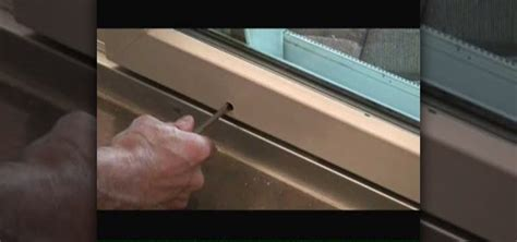 How To Adjust Sliding Glass Doors « Construction & Repair