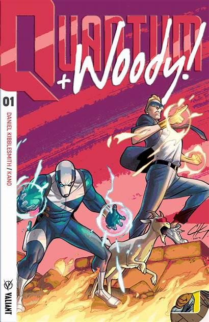 Variant Comic Woody Valiant Quantum 90s Covers