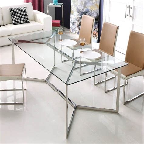 glass dining table ideas  pinterest glass