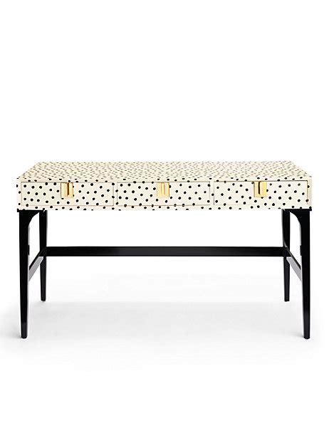 Kate Spade Makes Furniture!!!  Effortless Style Blog. Snap Help Desk. Natural Wood Computer Desk. Storage Beds Full Size With Drawers. Walmart Makeup Desk. High End Coffee Tables. Affordable Computer Desk. Edwardian Desk Lamp. Rack Mount Laptop Drawer
