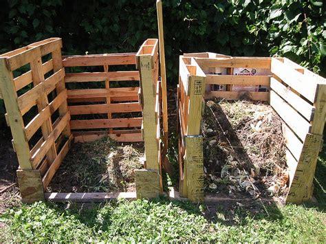 fabriquer composteur palette fabriquer composteur habitat 233 cologique